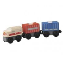деревянная игрушка Грузовой поезд