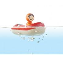 деревянная игрушка Катер береговой охраны