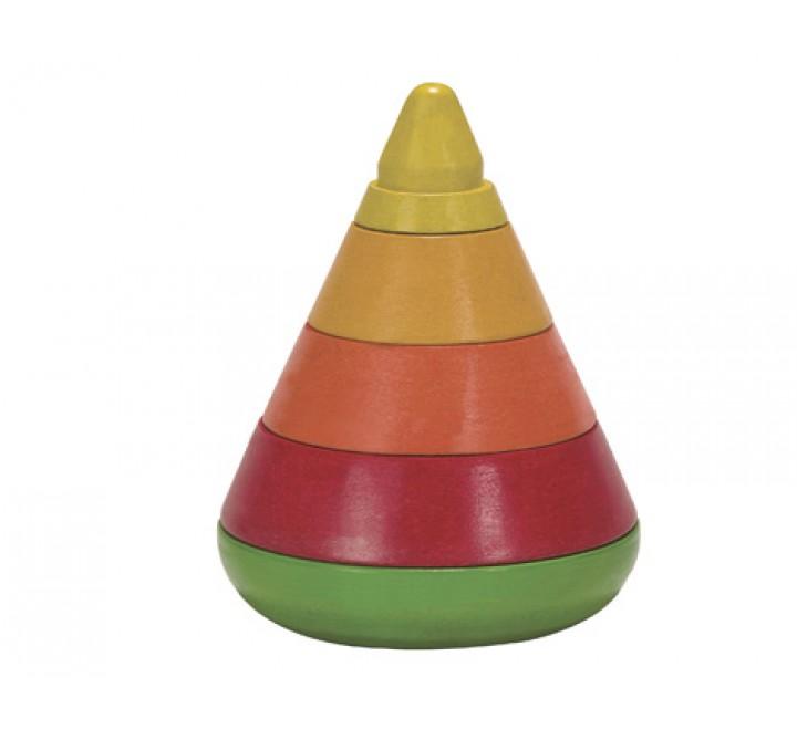 деревянная игрушка Коническая пирамидка