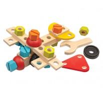 деревянная игрушка Конструктор 40 деталей