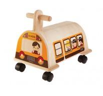 деревянная игрушка Электробус