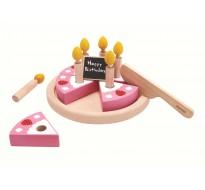 деревянная игрушка Набор именинный торт