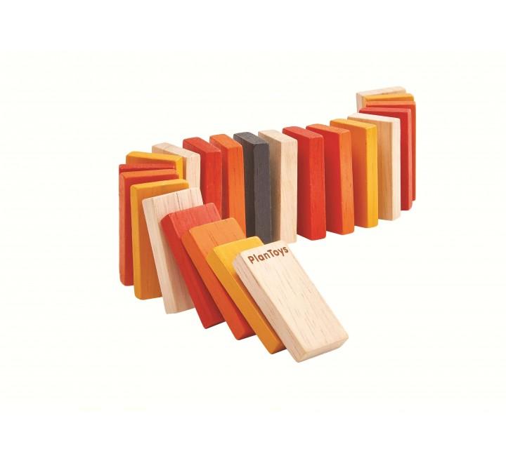 деревянная игрушка Домино гонки
