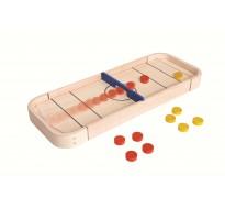 деревянная игрушка Игра Шаффлборд 2-в-1