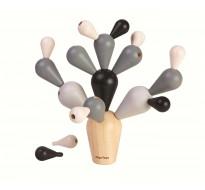 деревянная игрушка Балансирующий кактус - специальная версия