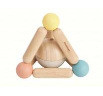 деревянная игрушка Погремушка треугольник