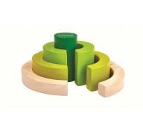 деревянная игрушка Фигурные блоки