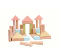 деревянные Кубики 40 деталей