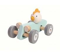 деревянная игрушка Машина петушка-гонщика