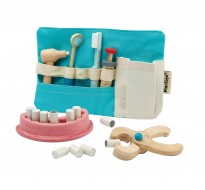 деревянная игрушка Набор зубного врача