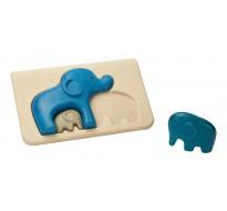 деревянная игрушка головоломка Слон
