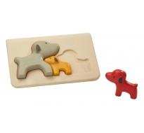 деревянная игрушка головоломка Собака