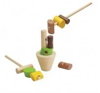 деревянная игрушка Укладка брёвен