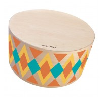 деревянная игрушка Барабан - круглый