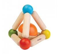 деревянная игрушка Погремушка - треугольник
