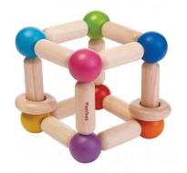 деревянная игрушка Погремушка-прямоугольник