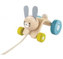 деревянная игрушка Прыгающий кролик