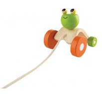 деревянная игрушка Прыгающая лягушка