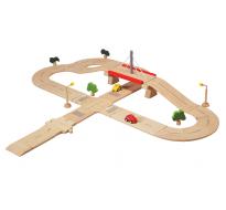 деревянная игрушка Дорожная сеть (Deluxe)