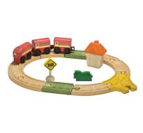 деревянная игрушка Овальная железная дорога