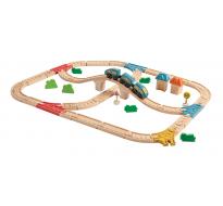 деревянная игрушка Железная дорога