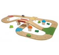 деревянная игрушка Автомобильная дорога