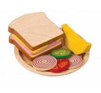 деревянная игрушка Сандвич