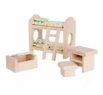 деревянная игрушка Детская спальня-классическая