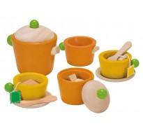 деревянная игрушка Чайный сервиз