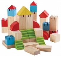 деревянная игрушка Конструктор блоки