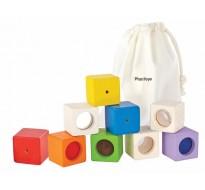 деревянная игрушка Обучающие кубики