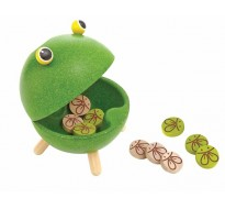 деревянная игрушка Накорми лягушку