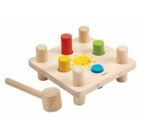 деревянная игрушка Молоток и колышки