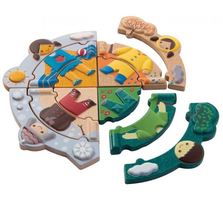 деревянная игрушка Одевайся по погоде
