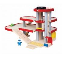 деревянная игрушка Паркинг