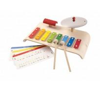 деревянная игрушка Музыкальный набор