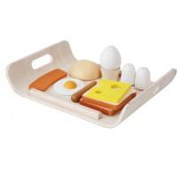 деревянная игрушка Меню к завтраку