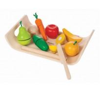 деревянная игрушка Фруктово-овощное ассорти