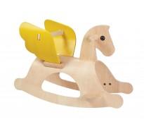 деревянная игрушка Пегас-качалка