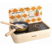 деревянная игрушка Переносная кухня