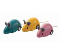 деревянная игрушка Бегающая мышка