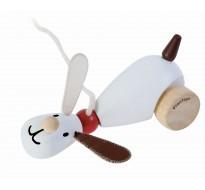 деревянная игрушка Сидящий и ходящий щенок