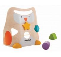 деревянная игрушка Сова