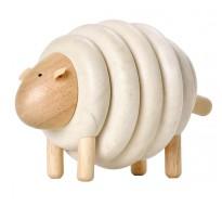 деревянная игрушка Овца из колец