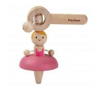 деревянная игрушка Волчок–балерина