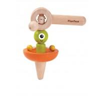 деревянная игрушка Волчок-НЛО