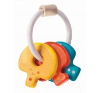 деревянная игрушка Погремушка ключи