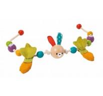 деревянная игрушка Погремушка цепочка