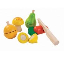 деревянный игровой набор Фрукты и овощи