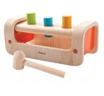 деревянная игрушка Верстак-забивалка